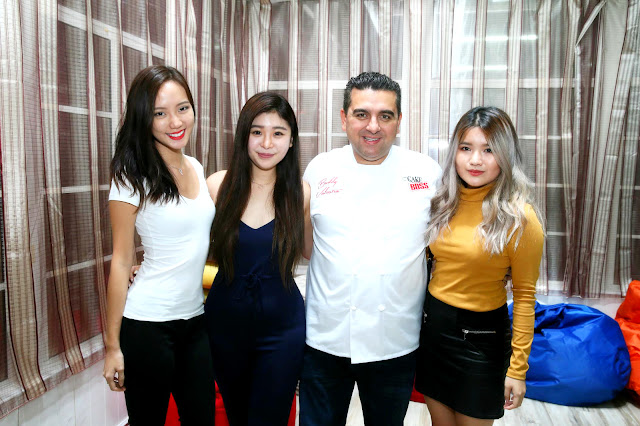 Meet and greet session with Buddy Valastro