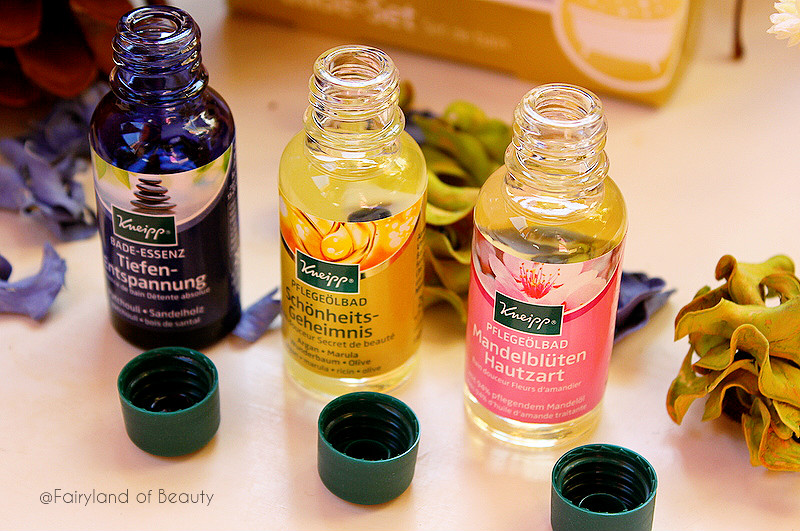 Отзыв: Наслаждение для души и тела – набор арома-масел для ванн Kneipp Bath.