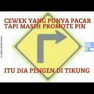 Meme Comic Indonesia terbaru Lucu tikung