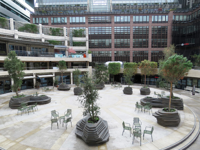 Broadgate Circle, Exchange House, Exchange Square, Broadgate, City of London
