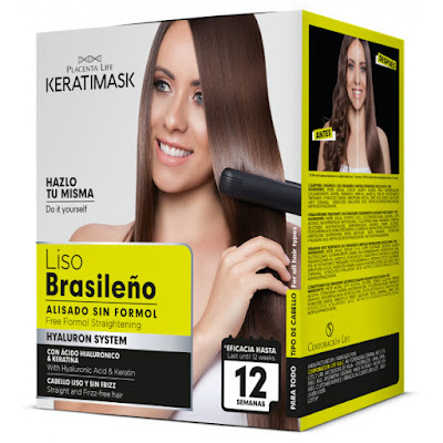 Liso brasileño Keratimask opinión