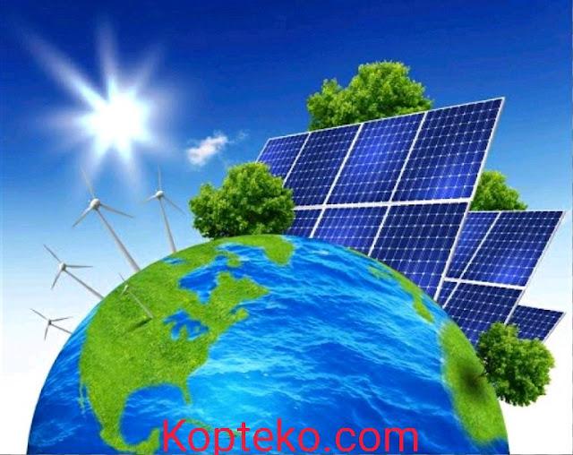 Teknologi Energi Terbarukan dan Jenisnya