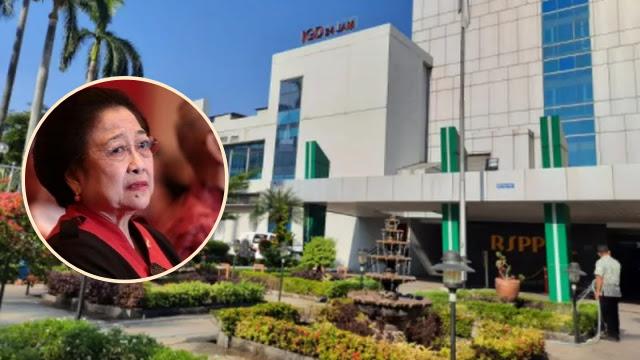 Bantah Rawat Megawati, RSPP: Tapi Tak Tahu Kalau Rumah Sakit Lain