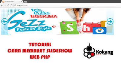 Cara Mudah Membuat SlideShow pada WEB PHP