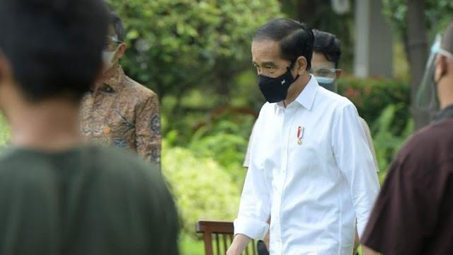 Jokowi Mengaku Pernah Batuk-batuk Kecil pada Waktu Tujuh Hari Belakangan