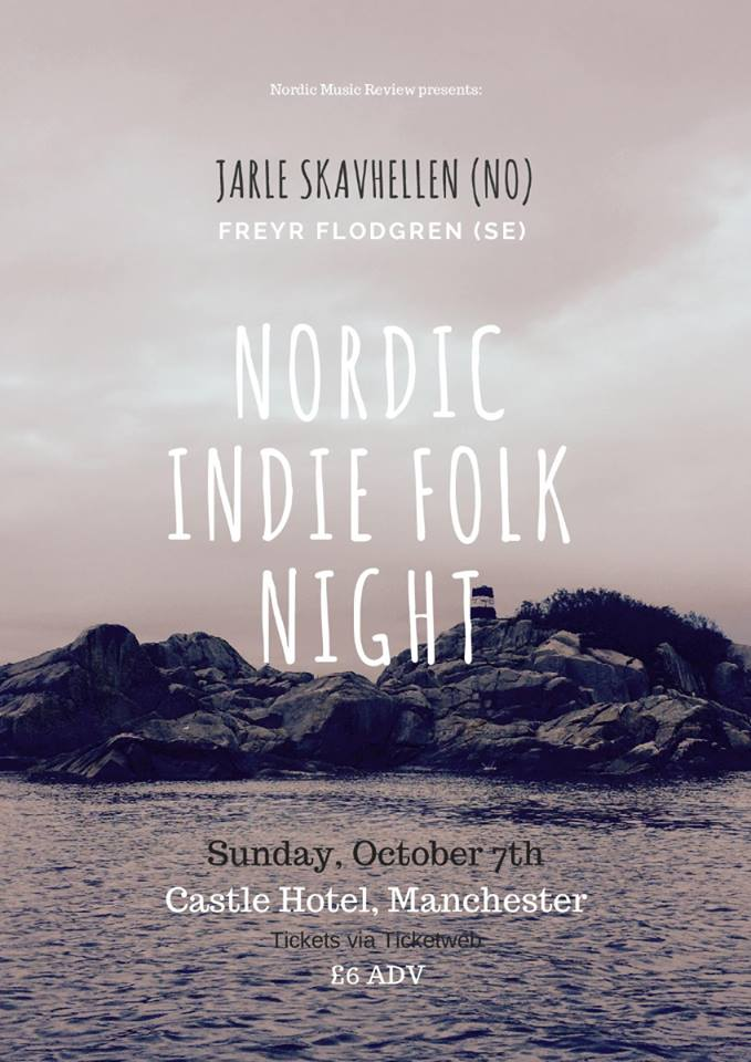 Nordic Indie Folk Night - Sun 7th Oct