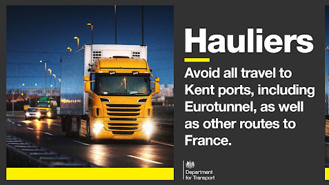 211320 France closed, advice for hauliers stay away for now