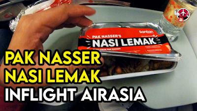 Pak Nasser Nasi Lemak Inflight Airasia