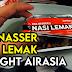 Review Rasa dan Bahan Resepi Nasi Lemak Pak Nasser's Santan Di Dalam Penerbangan Airasia