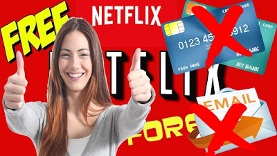 How To Use Free Netflix Without Any Card And Email - ID For Lifetime