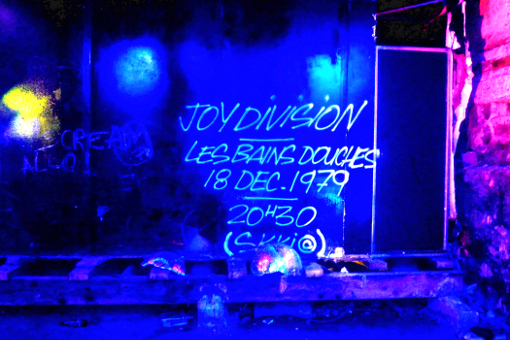Demolition Party Bains Douches club paris joy division