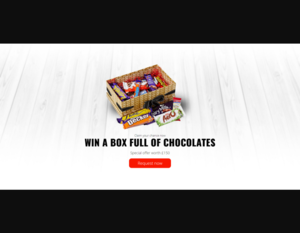 Win free  a Box Full of Chocolates For United Kingdom