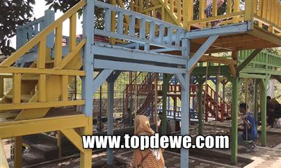 Wahana playground wisata kampung kahuripan