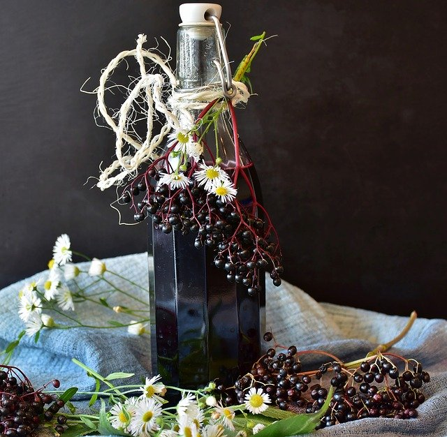 Make your own elderberry syrup at home with a few simple ingredients.