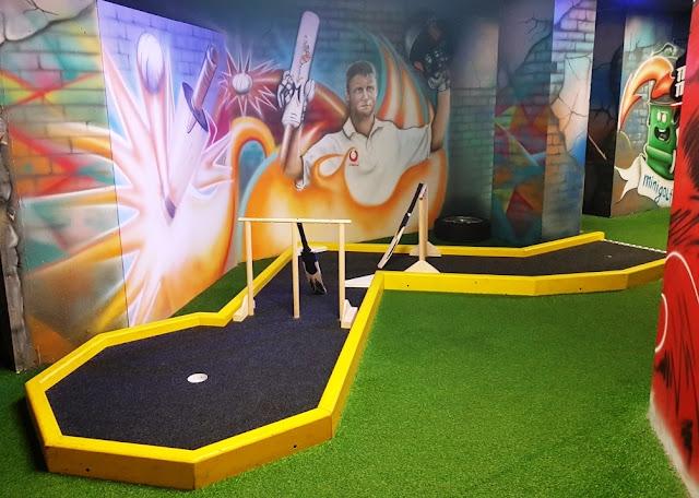 Crazy Golf at Level Preston