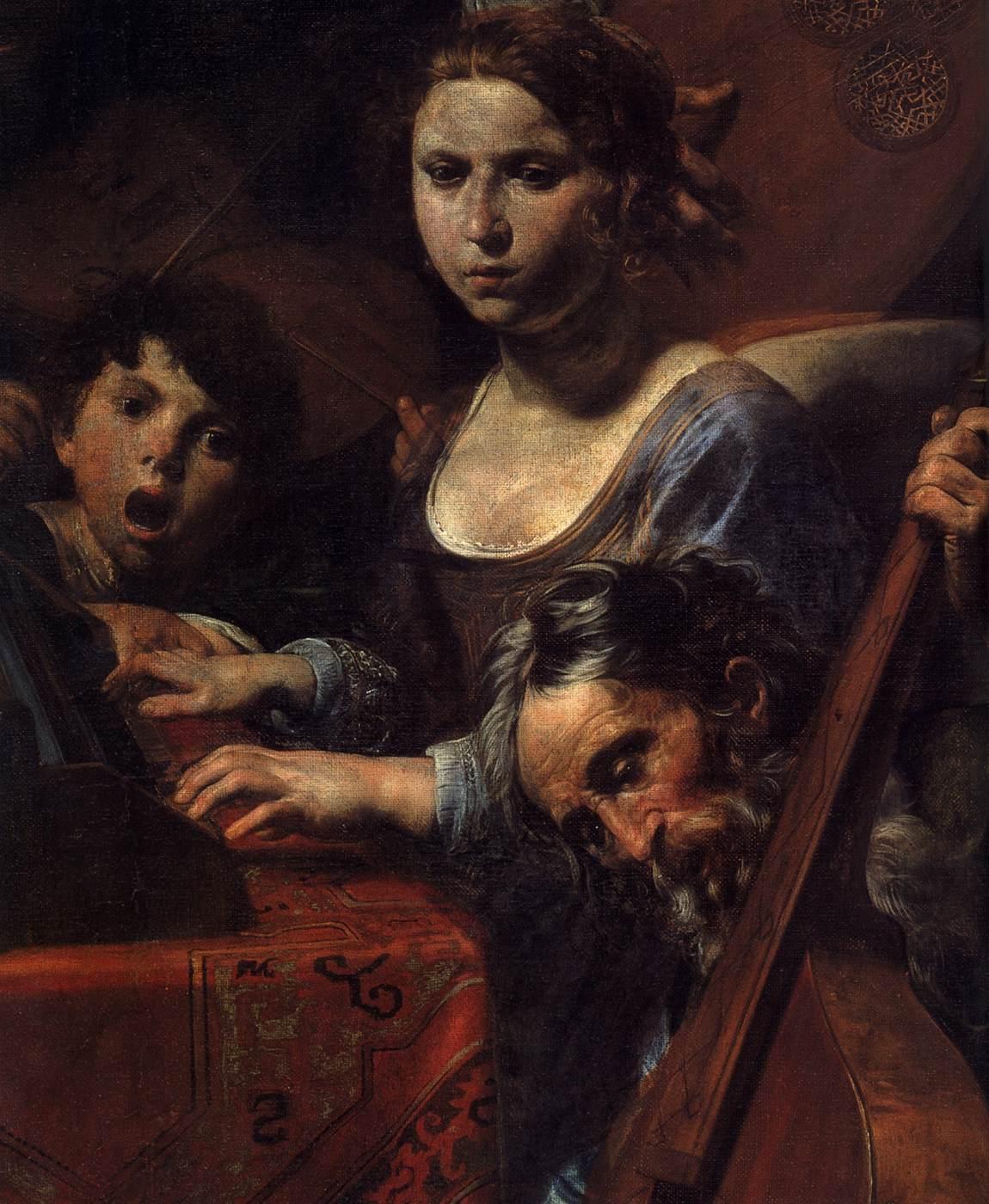 Nato Nellu0027Ile De France A Coulommiers E Proveniente Da Una Famiglia Di  Artisti Italiani, Dopo Lu0027apprendistato In Francia, Valentin De Boulogne  [1591 1632]* ...