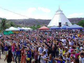 Juventude se encontra no Santuário do Lima no próximo dia 20 em Patu/RN