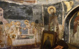 Pinturas de St. Naum. Lago Ohrid.