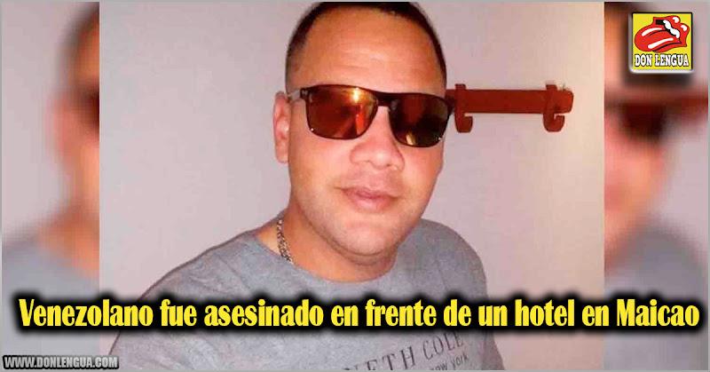 Venezolano fue asesinado en frente de un hotel en Maicao