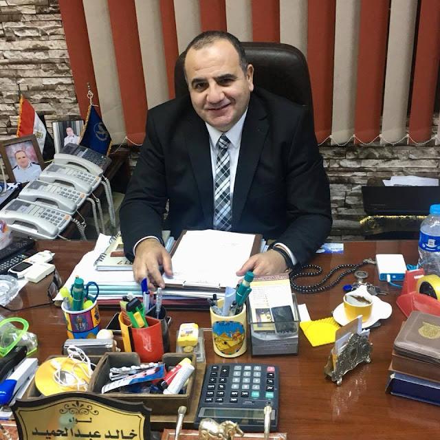 تهنئة لوكيل مباحث وزارة الداخلية لواء خالد عبدالحميد لتجديد الثقة
