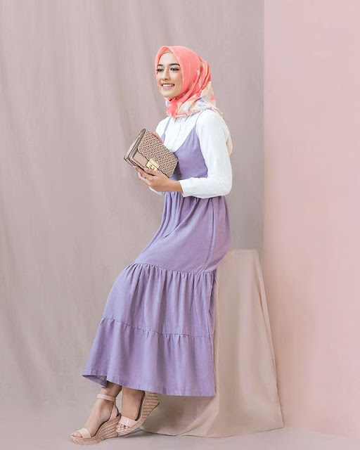 Lilac Overall