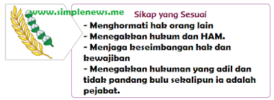 Sikap yang Sesuai sila ke 5 www.simplenews.me