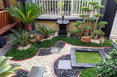 15 Desain Taman Minimalis Sikas