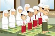Tata Cara Sholat  Fardhu Lengkap Bacaan Doa Tiap Gerakan