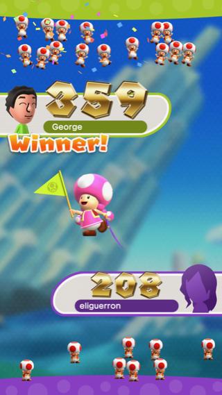 Süper Mario Run arkadaşlarla maç yapma