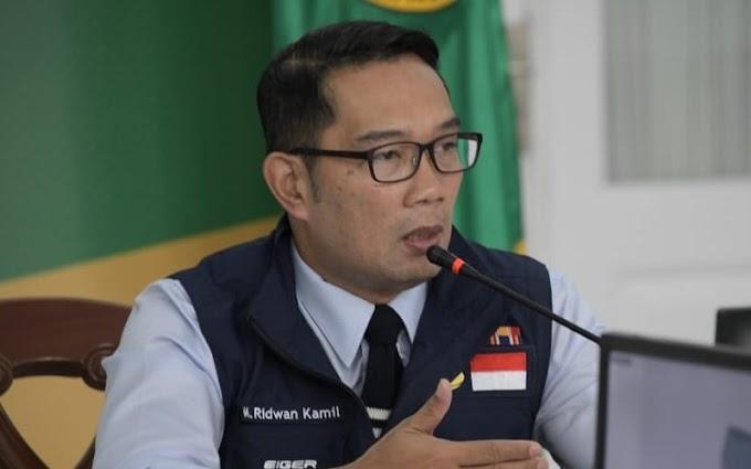 Nama Ridwan Kamil Masuk Tiga Besar Capres.