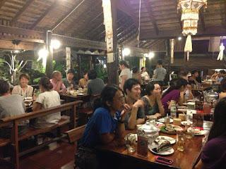 Huan Muan Jai Restaurant in Chiang Mai, North Thailand