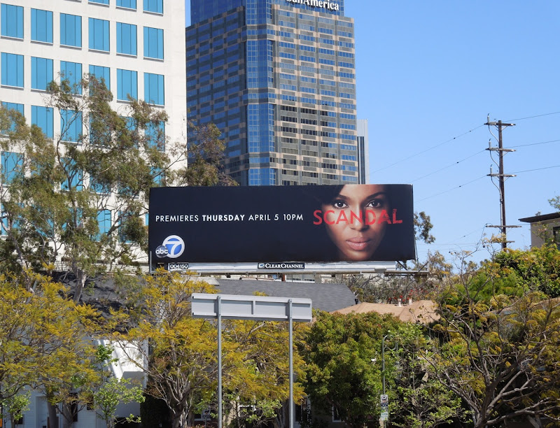 Scandal billboard