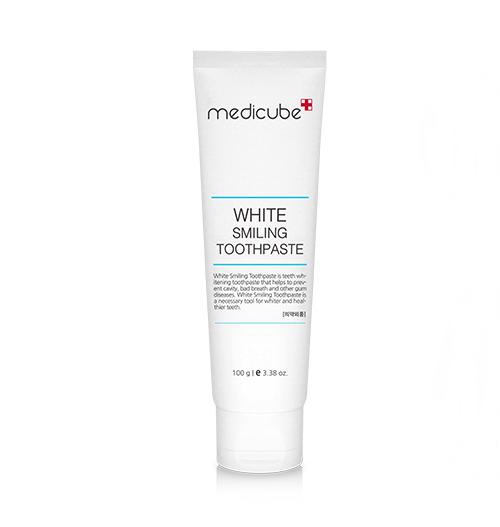 White Smiling Toothpaste