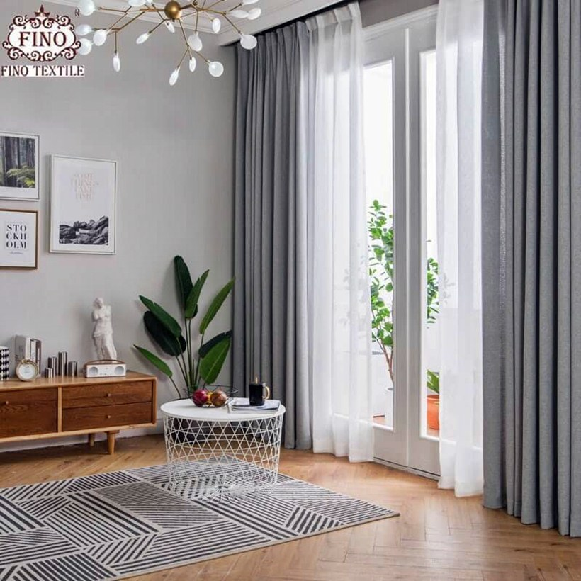 7 Modern and Beautiful Curtain Ideas for Your Living Room ... on Living Room Curtains Ideas  id=61766