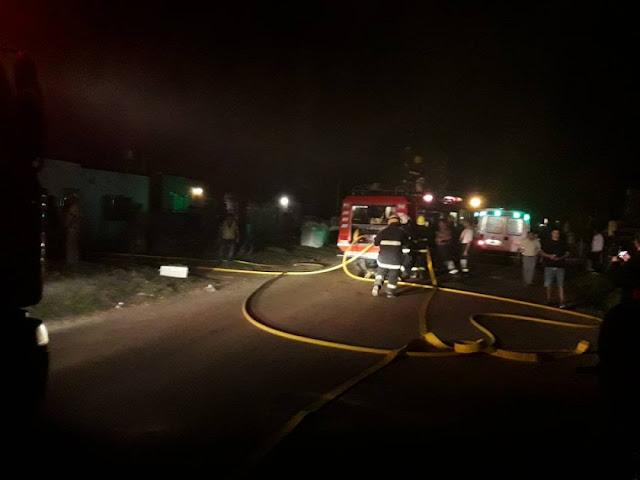 Incendio de una vivienda en Isla Verde, podría haber sido intencional