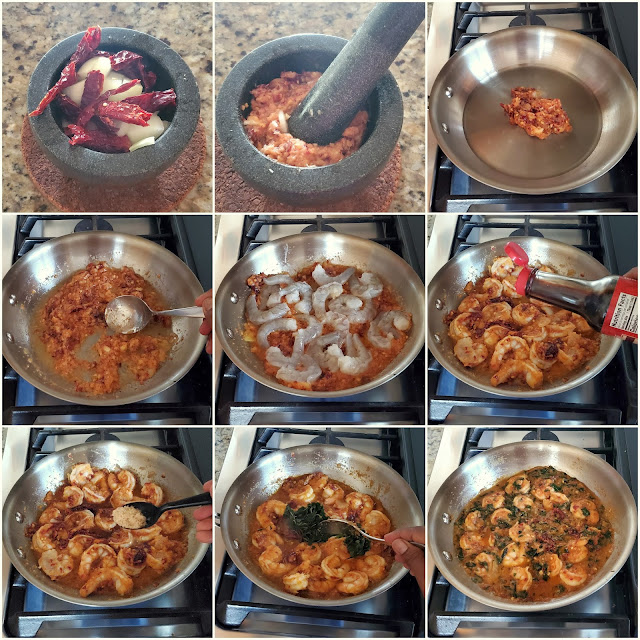 images of Thai Shrimp Fried With Basil / Pad Krapow Kung