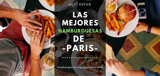 Las mejores hamburguesas de Paris