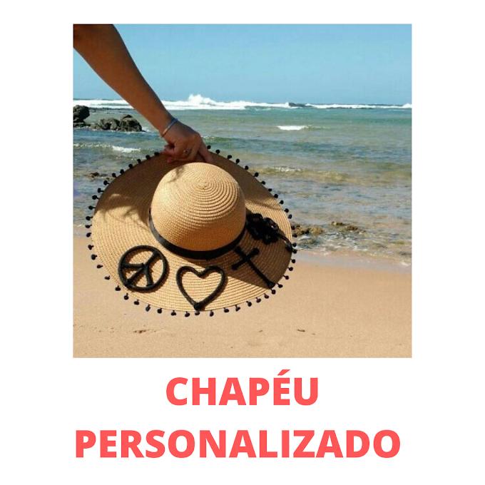 INSPIRAÇÕES DE CHAPÉUS PERSONALIZADOS