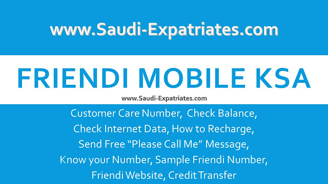 FRIENDI MOBILE KSA
