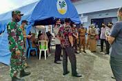 Basli Ali Tinjau Pelaksanaan Vaksinasi Massal Di Mapolres Kepulauan Selayar