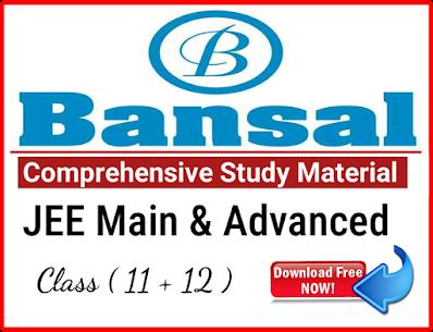 Bansal Comprehensive Study Material
