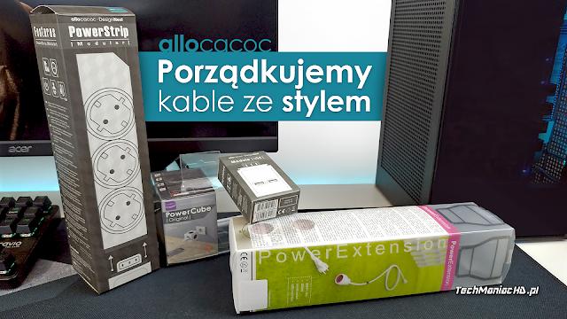 Porządkujemy kable przy biurku z pomocą produktów marki Allocacoc