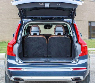Review of Volvo XC90 2019: Luggage