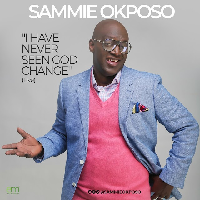 Video + Audio: Sammie Okposo - I Have Never Seen God Change (LIVE)