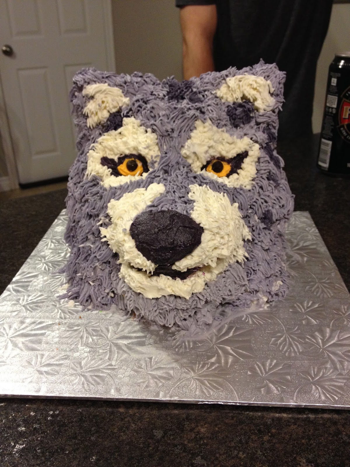 My Food Infatuation How To 3d Wolf Head Cake