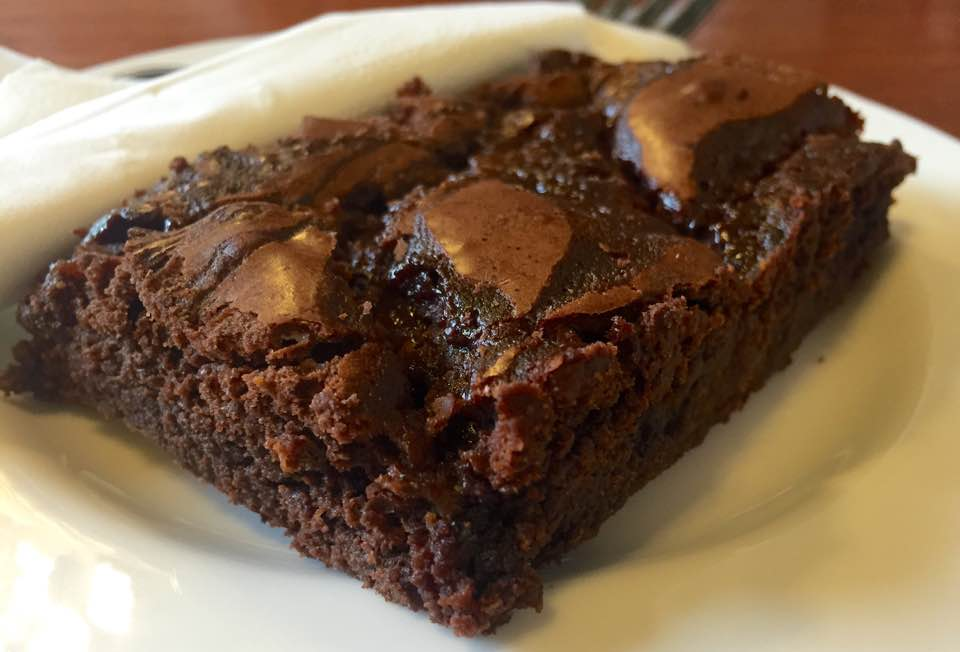 Quilliam Brothers Teahouse | Newcastle - Lunch Menu Review - Chocolate Caramel Brownie