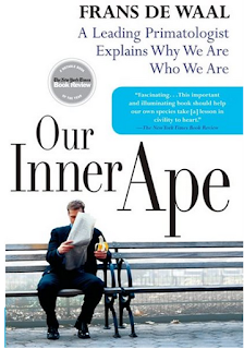 what i m reading: our inner ape: a leading primatologist explains why we are who we are