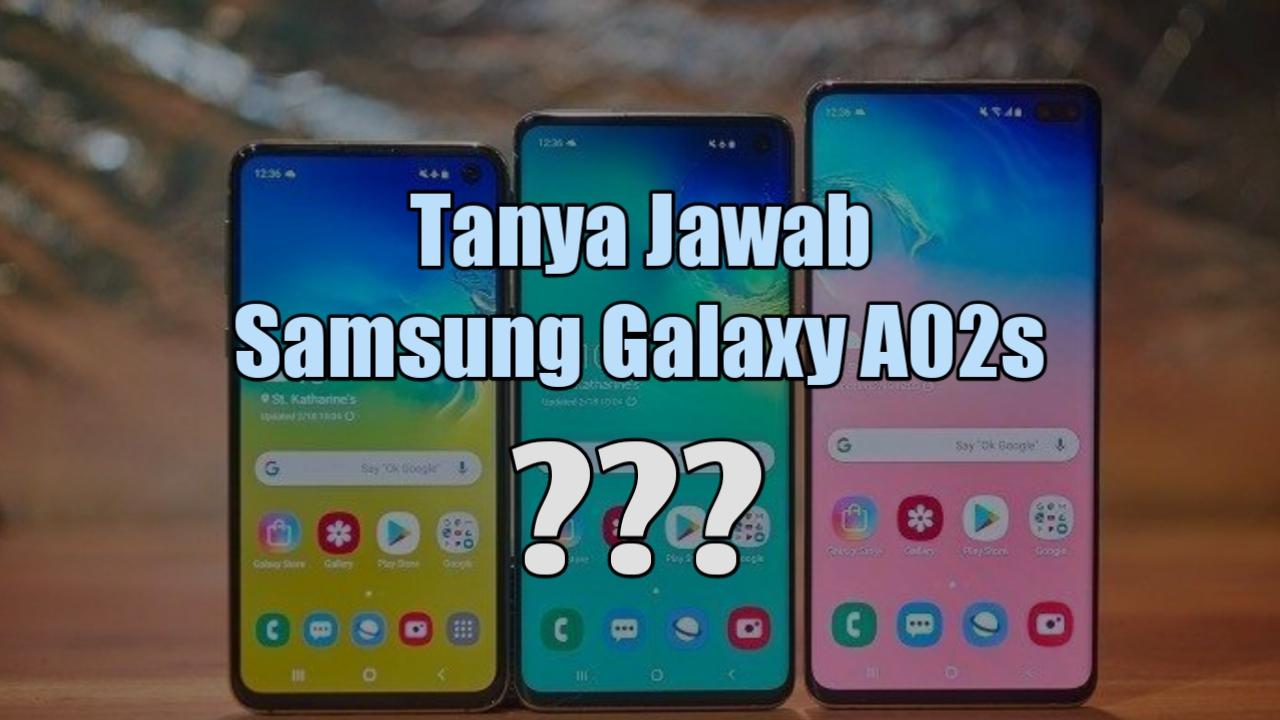 Samsung Galaxy A02s FAQs