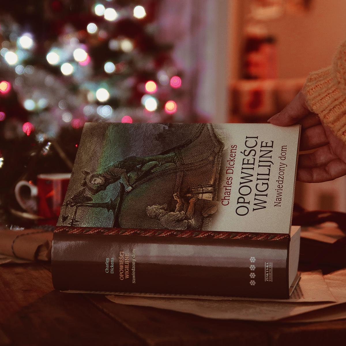 #142 Opowieści wigilijne. Nawiedzony dom - Charles Dickens - recenzja - czy warto przeczytać?