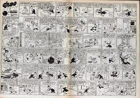 Doble página de Gildo, Pulgarcito nº 38